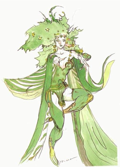 Rydia Final Fantasy