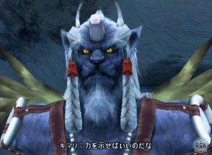 View a character sheet 10-kimahri