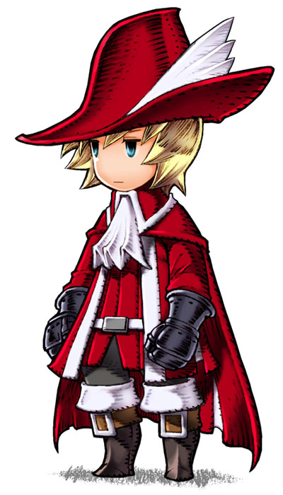 NAME: Red Wizard (FF3) / Red Mage (FF3DS)