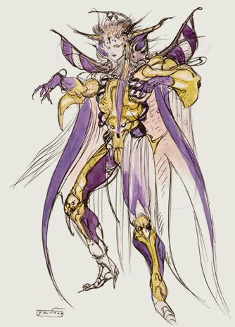 Final Fantasy 12 Esper Concept Art
